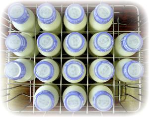 молоко на кухне